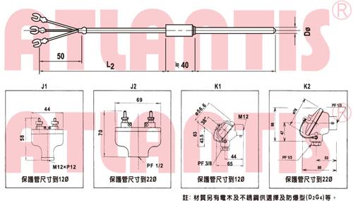 热电偶&测温电阻体